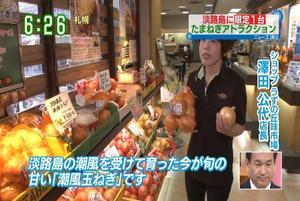 読売テレビ | 朝生ワイド す・またん! | たまねぎキャッチャーが紹介されました。