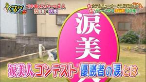 日本テレビ | 新春ぐるナイ!ゴチ新メンバー超大物2名発表SP!にて「タマ泣き美人コンテスト」が紹介されました。