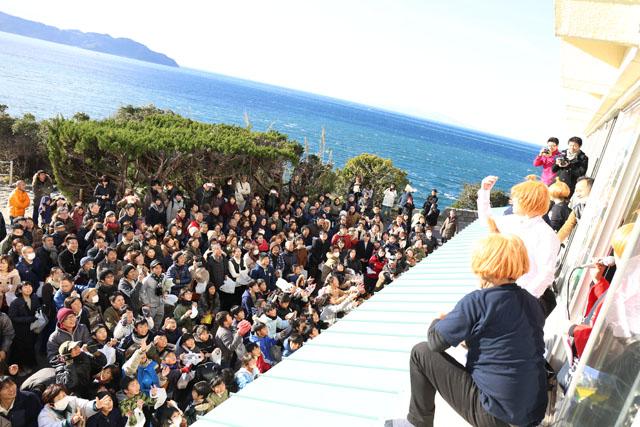 たまねぎまき 淡路島道の駅うずしお新春イベント